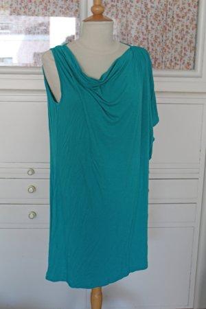 Asymmetrisches Jersey-Kleid / Tunika, neuwertig, Gr. M