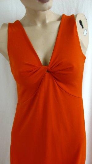 Madeleine Abito jersey ruggine-arancione scuro Tessuto misto