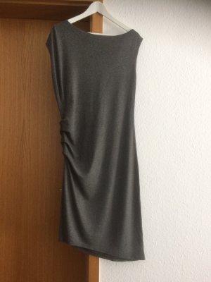 Asymmetrisches Kleid, grau