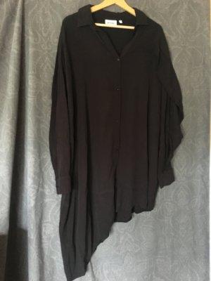 Weekday Shirtwaist dress black viscose