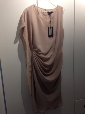 Asymmetrisches Kleid - Wasserfall