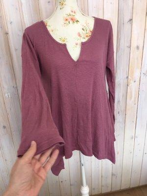Pull & Bear Maglione lavorato a maglia rosa