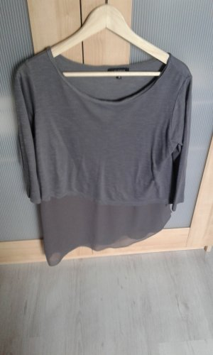 Asymmetrisches Shirt grau Gr.36 Vestino