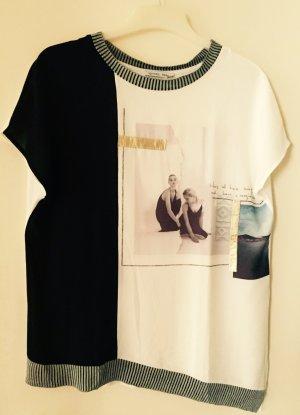 Asymmetrisches Shirt von Zara