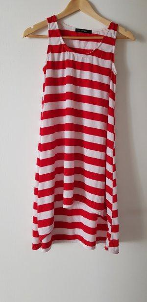 Strandjurk rood-wit