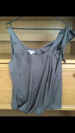 H&M Chemisier noir-gris