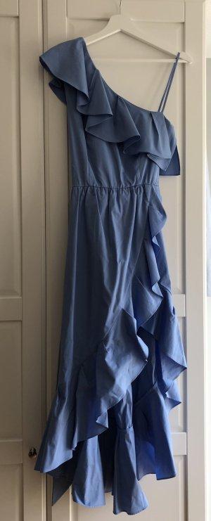 Asymmetrisches Volantkleid Sandro Paris Kleid Gr. 3