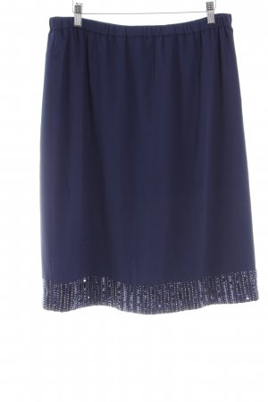 Atelier Pencil Skirt dark blue elegant