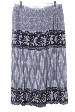 Atelier Creation Jupe plissée motif aztèque élégant