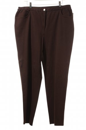 Atelier Creation Jersey Pants brown casual look