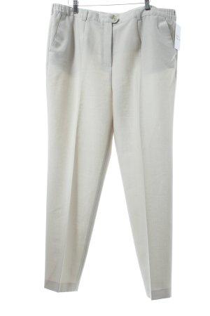 Atelier Creation Pantalon en jersey beige clair style classique