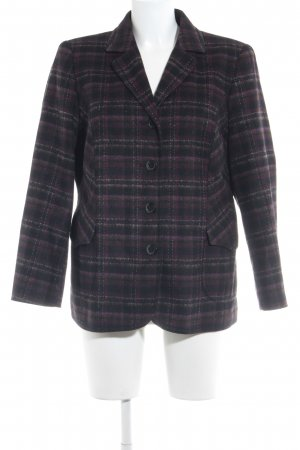 Atelier Creation Wool Blazer check pattern elegant