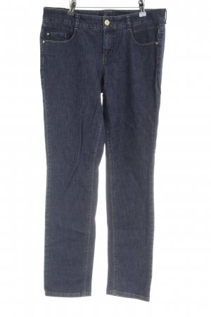 Atelier Gardeur Jeans a 7/8 blu scuro stile classico