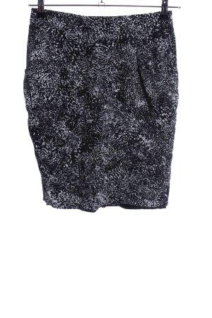 Atelier Gardeur Pencil Skirt black-white allover print elegant