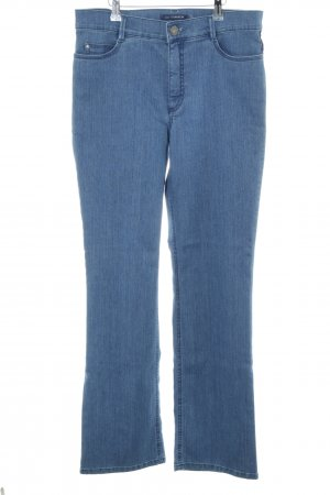 Atelier Gardeur Boot Cut Jeans blue casual look