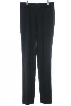 Atelier Gardeur Pleated Trousers black business style