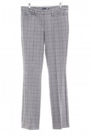Atelier Gardeur Pleated Trousers grey check pattern business style