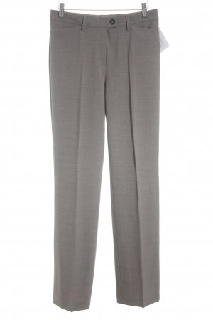 Atelier Gardeur Pleated Trousers grey brown flecked business style
