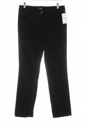 Atelier Gardeur Five-Pocket Trousers black velvet appearance