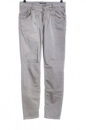Atelier Gardeur High Waist Trousers light grey casual look