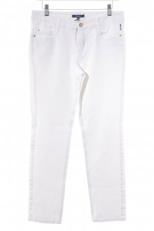 Atelier Gardeur Low-Rise Trousers white casual look