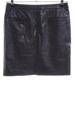 Atelier Gardeur Leather Skirt black casual look