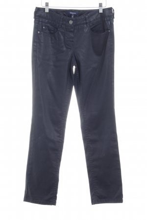 Atelier Gardeur Drainpipe Trousers dark blue casual look