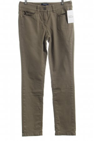 Atelier Gardeur Drainpipe Trousers sand brown street-fashion look