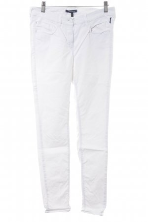 Atelier Gardeur Drainpipe Trousers white casual look