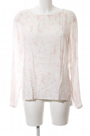 Atelier Gardeur Slip-over Blouse pink-white allover print casual look