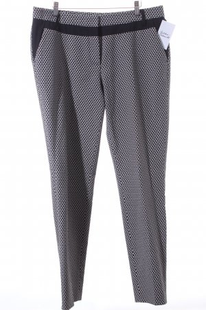 Atelier Gardeur Jersey Pants dark blue-white allover print business style