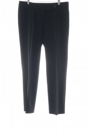 Atelier Gardeur Pantalone jersey nero stile classico