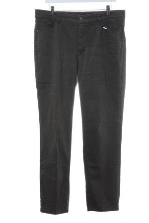 Atelier Gardeur Jeans met rechte pijpen khaki casual uitstraling