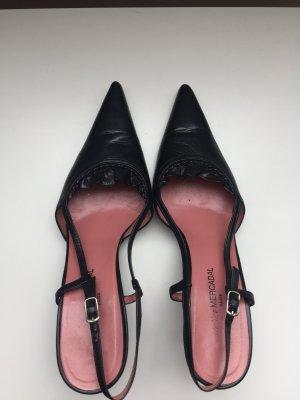*Atelier Mercadal Paris* Sexy Leder Slingpumps RESERVIERT