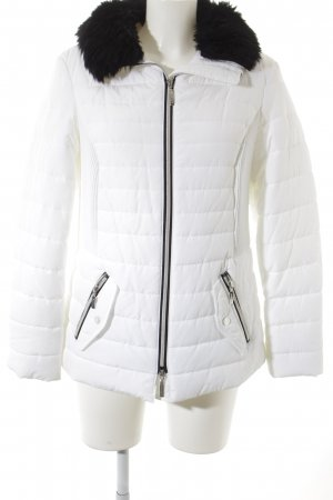 Atelier Quilted Jacket white-black casual look