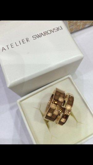Atelier Swarovki by&Viktor Rolf Frozen Crystals Wide Ring