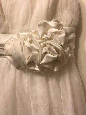 Atemberaubendes weißes Kleid, Luxuriöses Ballkleid von Apart Fashion Glamour