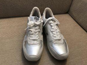 Atlantic Stars Sneaker Schuhe Turnschuhe Silver ungetragen 41