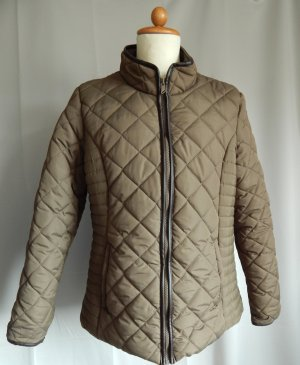 Atmosphere Quilted Jacket ocher polyester