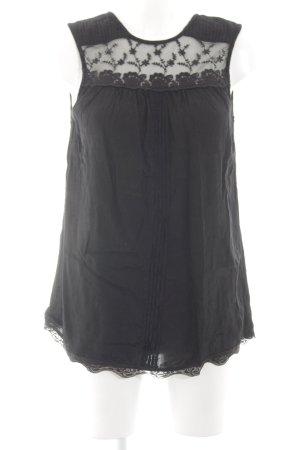Atmosphere Blouse topje zwart zakelijke stijl
