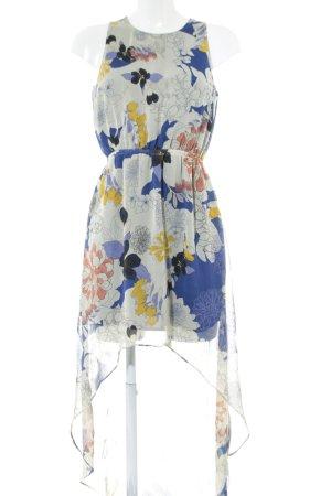 Atmosphere Robe chiffon motif de fleur style décontracté