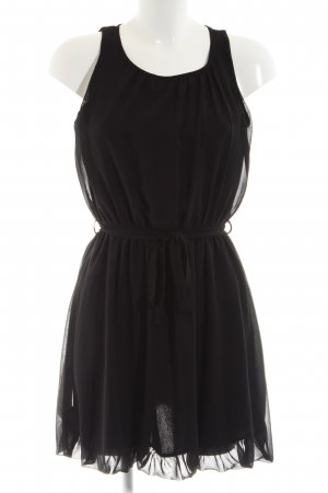 Atmosphere Chiffon Dress black elegant