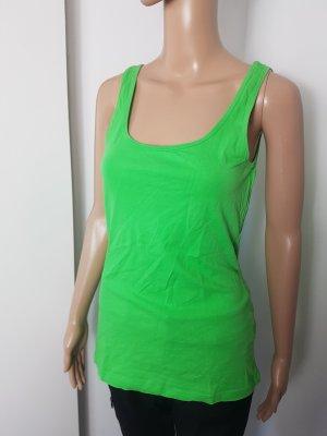 Atmosphere Damen Tanktop Achselshirt Stretch Basic Größe 38 grün