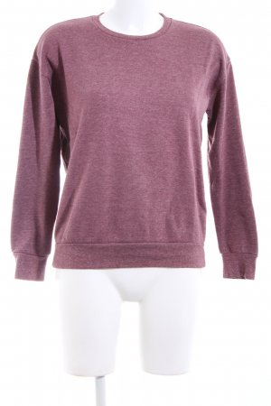 Atmosphere Fleecepullover pink meliert Casual-Look