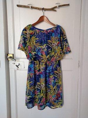 ATMOSPHERE florales Kleid Gr. 40 leicht luftig edel Sommer Abend Party Dress