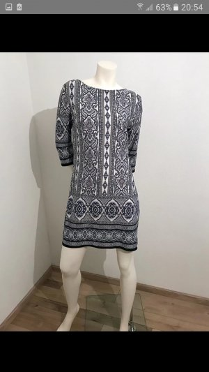 Atmosphere Dress white-dark blue