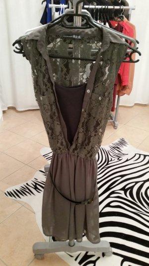 Atmosphere Kleid mit Gürtel khaki Gr. 36