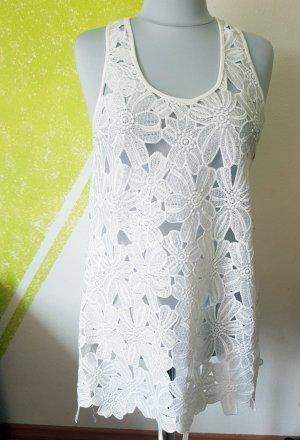 Atmosphere Tunique-blouse blanc tissu mixte