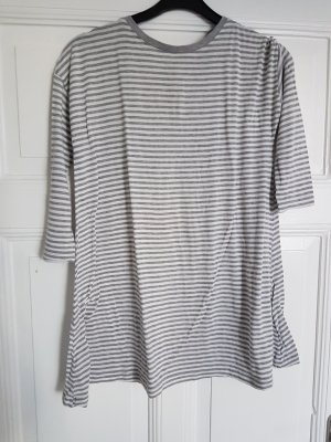 Atmosphere long Shirt grau weiß 36