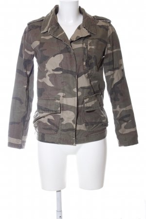 Atmosphere Militaryjacke bronzefarben-khaki Camouflagemuster Casual-Look
